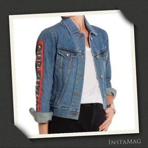 MARC BY MARC JACOBS Icon Printed Denim Jacket